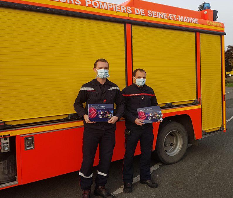 La municipalité du Mesnil-Amelot soutient les pompiers de Seine-et-Marne